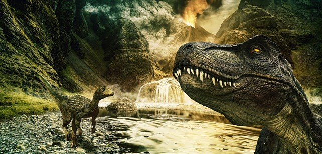 Vulkaner og dinosaurer