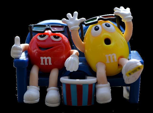 M&M på kino