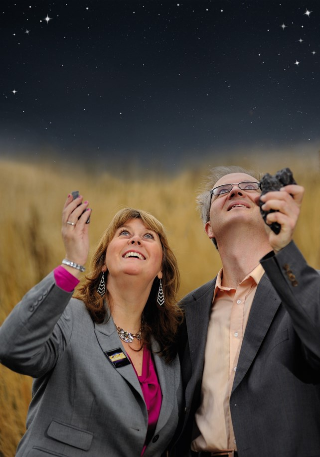 Astrofysikere og stjerner